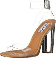 BRAND NEW GENUINE STEVE MADDEN CLEARER HEELS SHOES SIZE 10 IN BOX