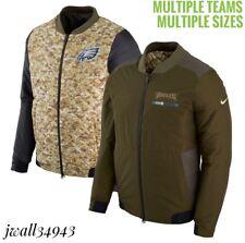 AUTHENTIC Nike Men's NFL Salute to Service Reversible Bomber Full-Zip Jacket