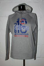 Nike Chicago Cubs World Series Champs Women's Gray Hoodie Hooded Sweatshirt M