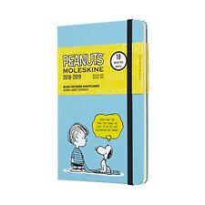 Moleskine 2019 Agenda settimanale Peanuts 18 mesi con Spazio per Note in