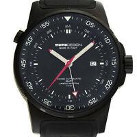 Momo Design GMT Limited Edition Auto 46mm Mens Watch Strap MD095-BKDIVRB-01