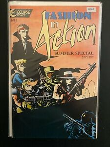 Fashion in Action Summer Special 1 High Grade Eclipse Comic Book CL96-7