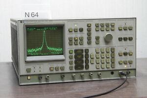 KEYSIGHT AGILENT HP 3585A SPECTRUM ANALYZER 20Hz to 40MHz # N64