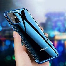 Hülle Samsung Galaxy A41 A51 A71 A21s Handy Case Back Cover Tasche Soft Silikon