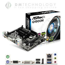Asrock Q1900m Scheda Madre Form microATX con CPU Intel Celeron J1900 2ghz Socket