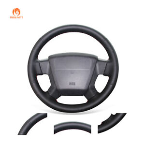 PU Leather Car Steering Wheel Cover for Jeep Compass Grand Cherokee Wrangler