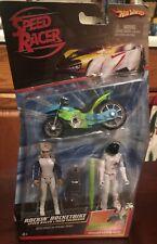 Mattel Speed Racer Rockin' Rocketbike Speed Racer 0000184B  & Taejo Togokhan Hot Wheels