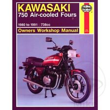 Kawasaki Z 750 H Ltd 4 Zylinder 1982 Haynes Service Repair Manual 0574