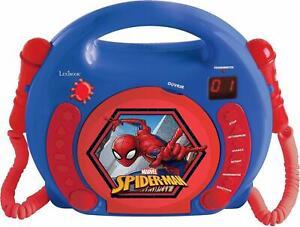 Lexibook CD-Player mit 2 Mikrofonen Marvel Spider Man  20524