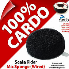 Cardo Scala Rider Mic Sponge for Wired/Corded Microphone Self Adhesive Backing