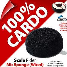 Cardo Scala Rider Esponja de Micrófono para micrófono con cable/con Cable Auto Adhesivo de respaldo