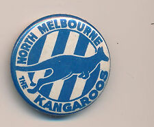 1963 North Melbourne Kangaroos pin badge small size