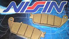 pastiglie anteriori NISSIN SINTERIZZATE Honda CBF 500 2004 2005 2006