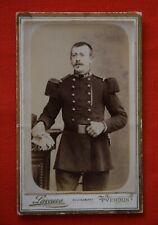 Photographie artistique Verdun d'un soldat 148 e régiment signé Laveuve