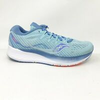 Saucony Womens Ride ISO 2 S10514-1 Blue Running Shoes Lace Up Low Top Size 7