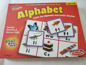 NEW Alphabet Match Me Learning Game Letters & Sounds Educational