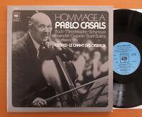 CBS 78237 Hommage A Pablo Casals 2xLP Gatefold EXCELLENT Bach Schumann etc