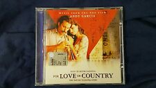 COLONNA SONORA - FOR LOVE OR COUNTRY  (ARTURO SANDOVAL). CD