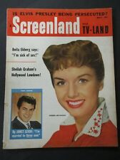 Vintage Screenland Magazine May 1957 - Debbie Reynolds cover