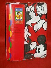 """Mickey's Stuff For Kids Mickey Mouse Red Tailored Window Valance 80"""" x 14"""" new"""