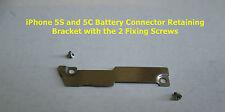 Iphone 5s + 5C batería interna de metal placa de soporte Flex manteniendo pulsado