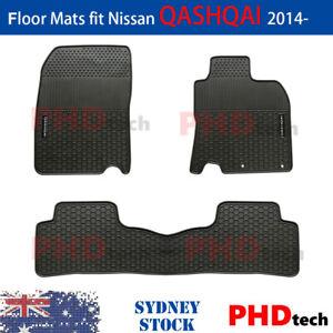Premium Quality All Weather Rubber Car Floor Mats Nissan QASHQAI 06/2014-2021
