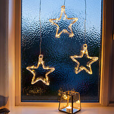 LED Stern Fensterdeko Weihnachtsdeko Batteriebetrieb Lights4fun
