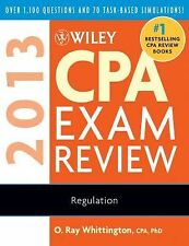 Wiley CPA Exam Review 2013 Regulation by Ray Whittington