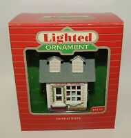 Hallmark General Store Lighted Christmas Ornament 1986 MIB