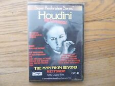 "HOUDINI -  ""THE MAN FROM BEYOND""  Restored DVD with Music"