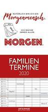 Typo Art 2020 A&I Familienplaner