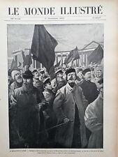 LE MONDE ABBILDUNGEN 1905 N 2537 LA REVOLUTION EN RUSSLAND STÜRMER UND