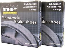 DP Rear Motorcycle Brake Shoes DP9119 - Honda CB350 CB350F CB360 CB400F Four