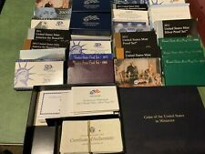 U S Mint Proof 26 Boxes & Sleeves Assorted Years And Mints NO Coins