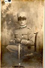 WW1 FOTO SOLDATO REGIO ESERCITO FREGIO TIRATORE SCELTO 68 RGT LEGNANO ftg1