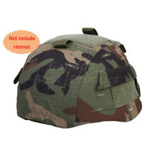 Airsoft Tactical MICH 2002 Nylon Helmet Cover With Back Pouch Multiple color WLD