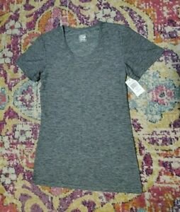 NWT 32 Degrees Cool Size S Gray Shirt Top Active Dry Workout Weatherproof Gym