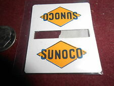 256-43 SUNOCO METAL DOUBLE SIGN FOR LIONEL TRAINS 156 PASSENGER PLATFORM+ OTHERS