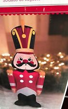 Airblown Inflatable Toy Soldier Nut Cracker Christmas, Outdoor Decor Nutcracker