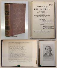 Otto Ludwig Werke 1. Bd Erzählungen 1912 Belletristik Prachtband Georg Müller xz