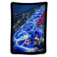 Sonic The Hedgehog Blanket ( KIDS / MEDIUM / LARGE )