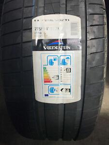 1 New 275 45 21 Vredestein Ultrac Vorti Tire