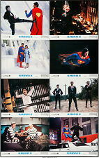 SUPERMAN 2 original 1980 lobby card set CHRISTOPHER REEVE 11x14 movie posters