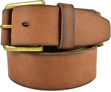 NWT TIMBERLAND Brown Stylish! Genuine Leather Men's Belt Size 36 Gift! Deal
