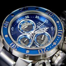 Invicta Reserve Subaqua Sea Dragon 52mm Swiss Mvt Blue Chronograph Watch New
