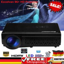 Excelvan 96+ 5000 Lumens LED 1080P 3D Beamer Heimkino Video Projektor Spiel Film