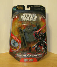Transformers Star Wars Crossovers ~ Darth Vader Tie Advanced Fighter NIP 2005