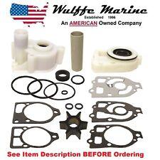 Water Pump Impeller Housing Kit for Mercruiser MR Alpha 1 Gen One '85-90 18-3320