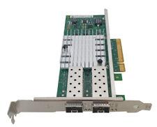 Intel X520-DA2 10Gbps SFP+ Dual Port Network Card E10G42BTDA PCIe x8