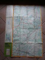 1986 Topographische Wanderkarte Hoher Fläming Havelseen Karte und Reise Infos
